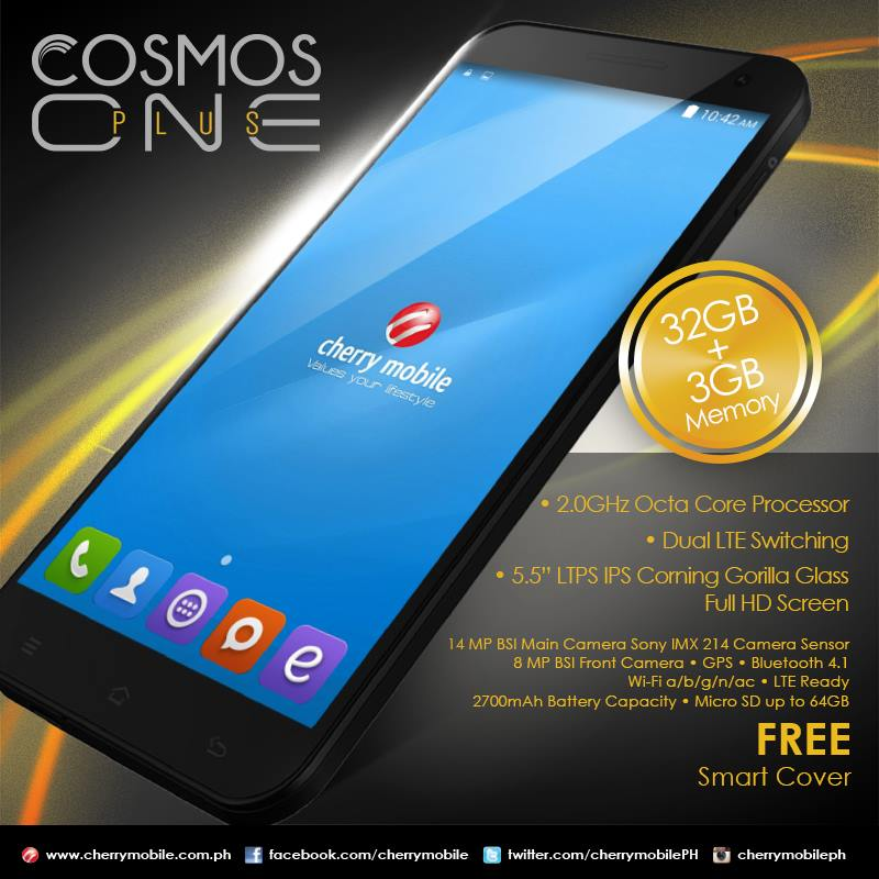 Cherry Mobile Cosmos One Plus Review