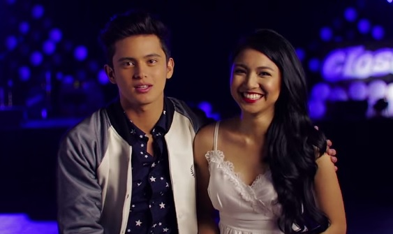 James Reid and Nadine Lustre for Closeup