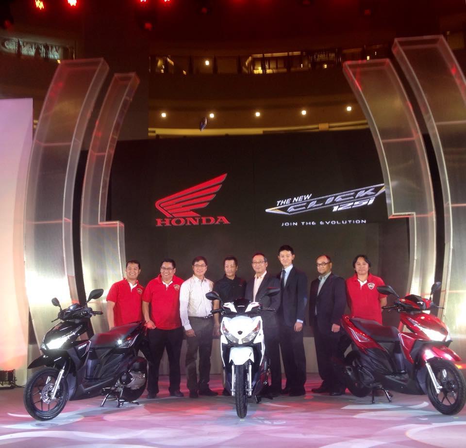 Honda Click 125i Event