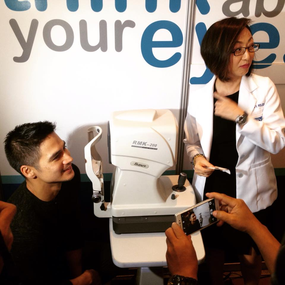 Piolo Pascual is Essilor Philippines' brand ambassador