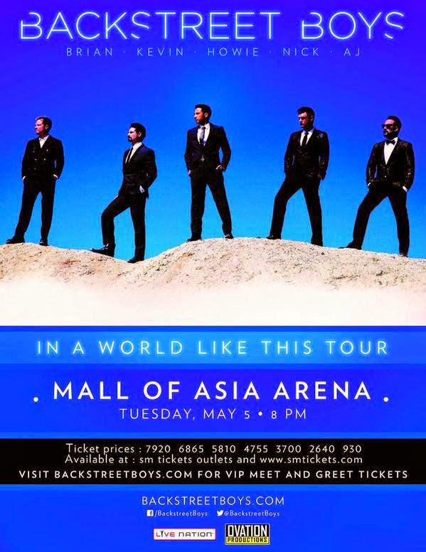 Backstreet Boys Concert in Manila 2015