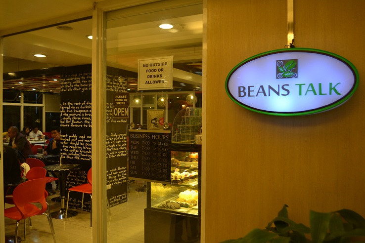 beans talk baguio