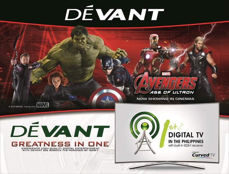 Devant Avengers