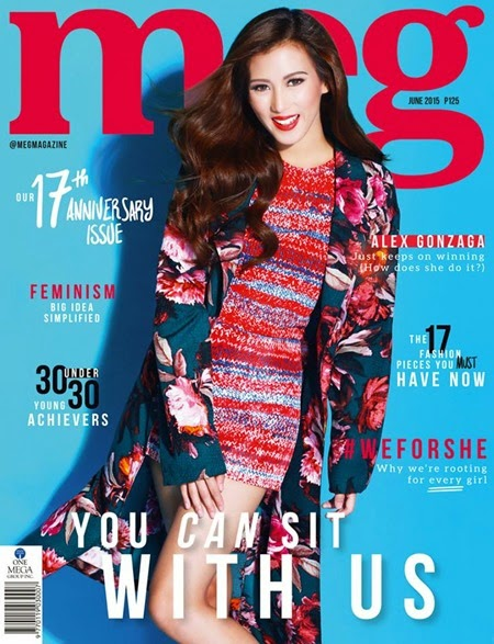 Alex Gonzaga Meg June 2015