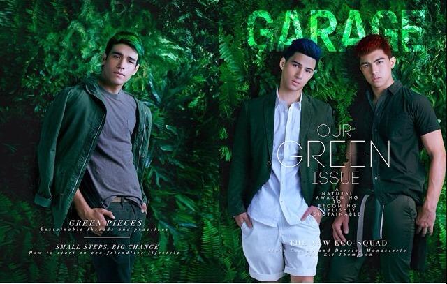 Derrick Monasterio, Kit Thompson, and Albie Casiño Garage June 2015