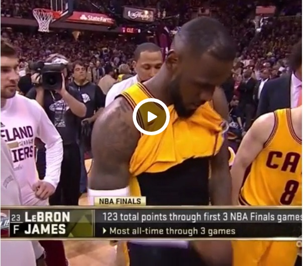 LeBron Accidentally Flashes Manhood During NBA Games ...