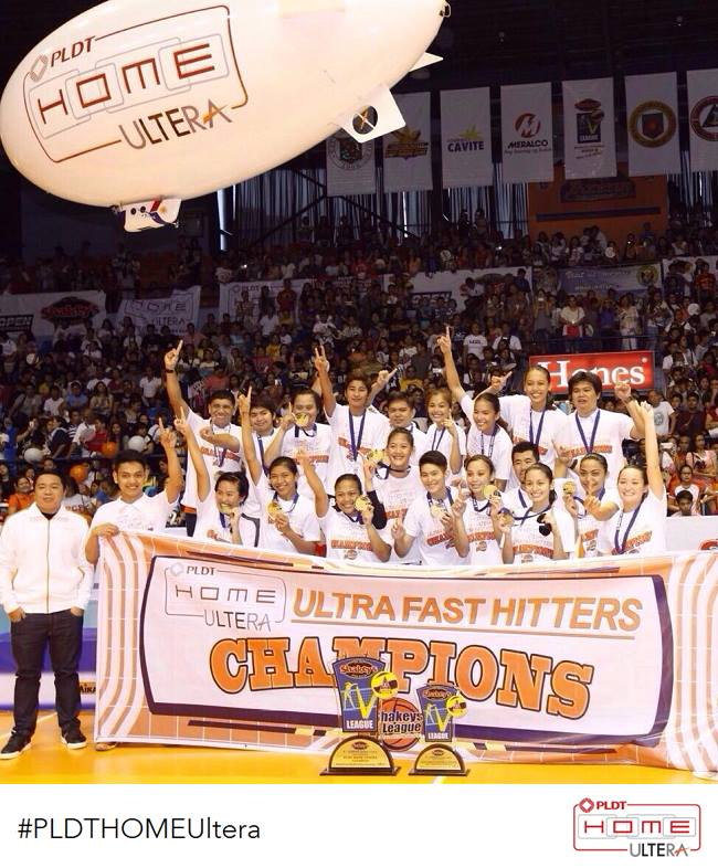 PLDT Home Ultera wins Shakeys V League Open Conference