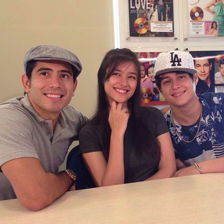 Gerald Anderson, Liza Soberano and Enrique Gil - Everyday I Love You movie