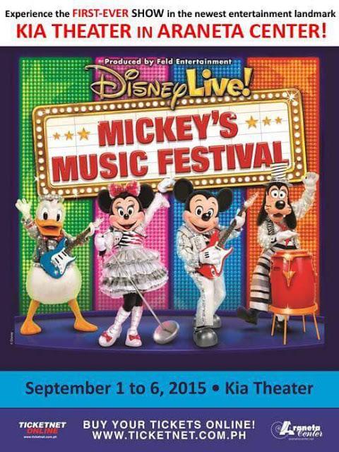 Disney Concert in Manila 2015