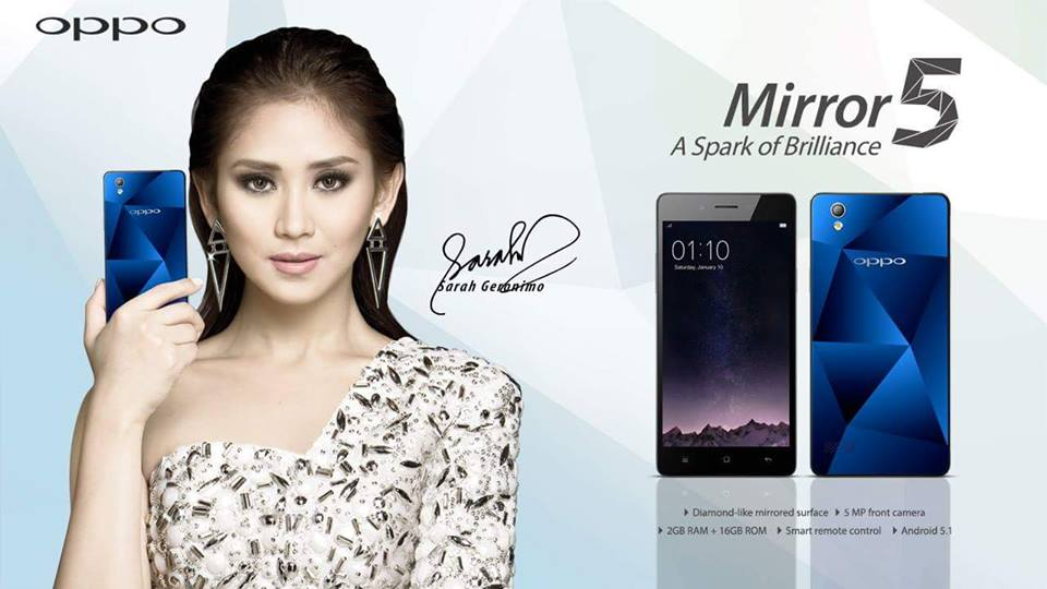 Sarah Geronimo for Oppo