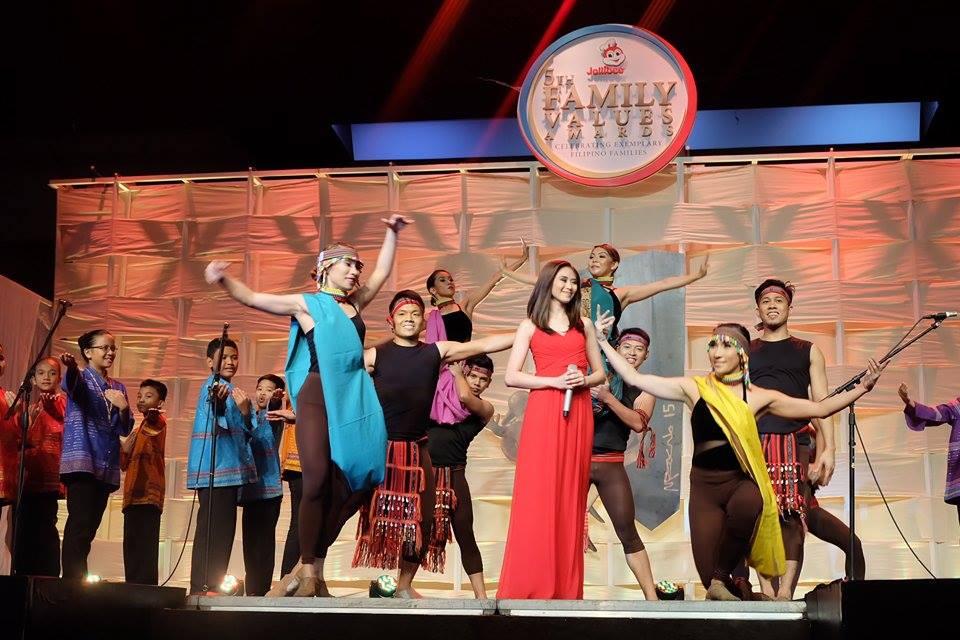 Sarah Geronimo for Jollibee Family Values Awards