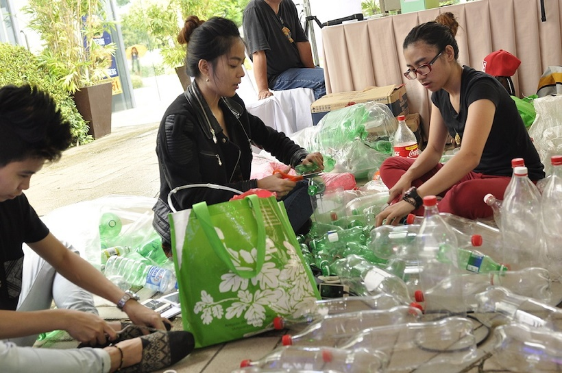 Amaia Steps Parkway Nuvali holds Upcycling Challenge