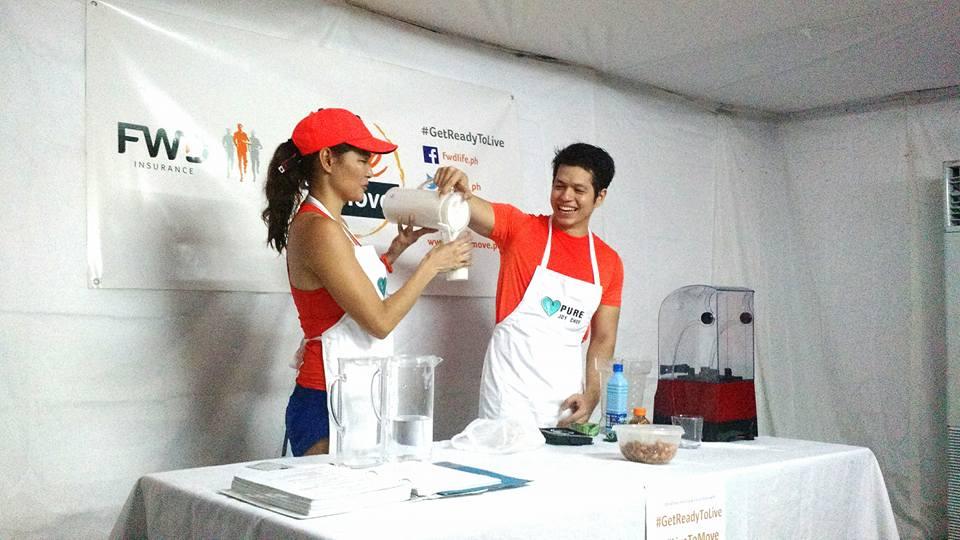 Coach Toni Saret and Chef Antonio