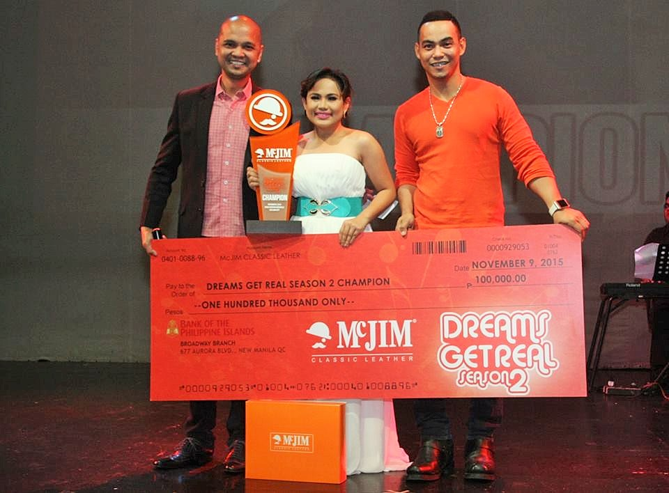 McJim Get Real Season 2 Winner Apple Deleva