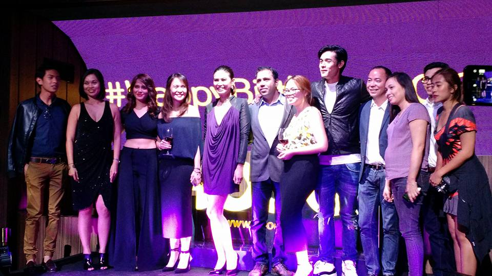 Jessy Mendiola, Xian Lim and Executives and friends from HOOQ Philippines