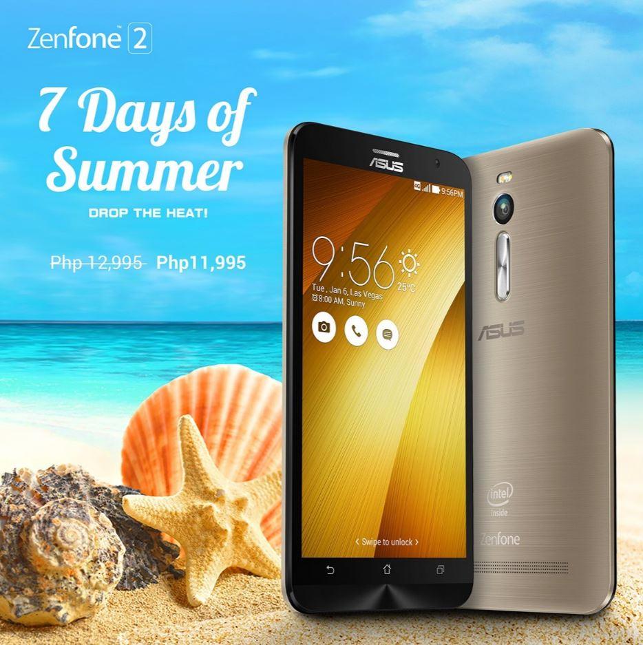 7 Days of Summer - ZenFone 2