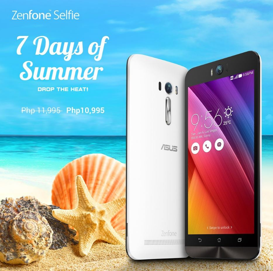 7 Days of Summer - ZenFone Selfie