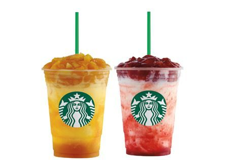 Starbucks Mango and Strawberry Fruit Jelly