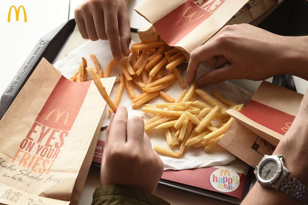 Shake Shake Fries Mcdo