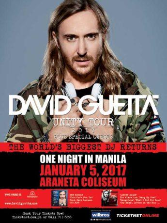 David Guetta Live in Manila 2017