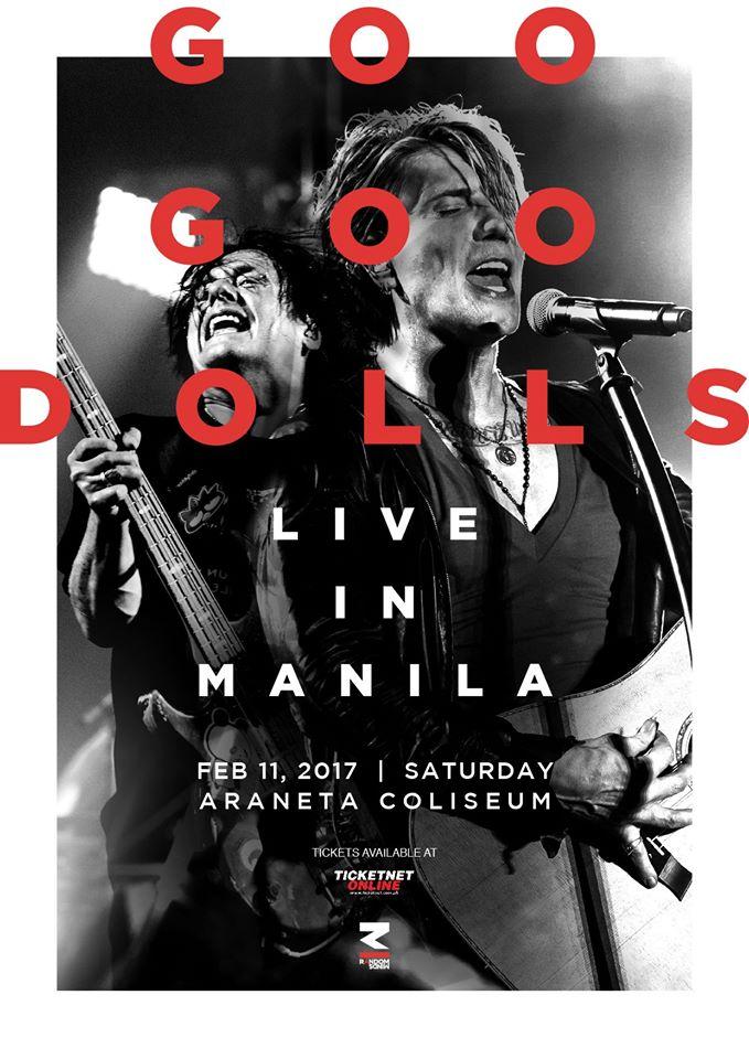 Goo Goo Dolls Live in Manila 2017