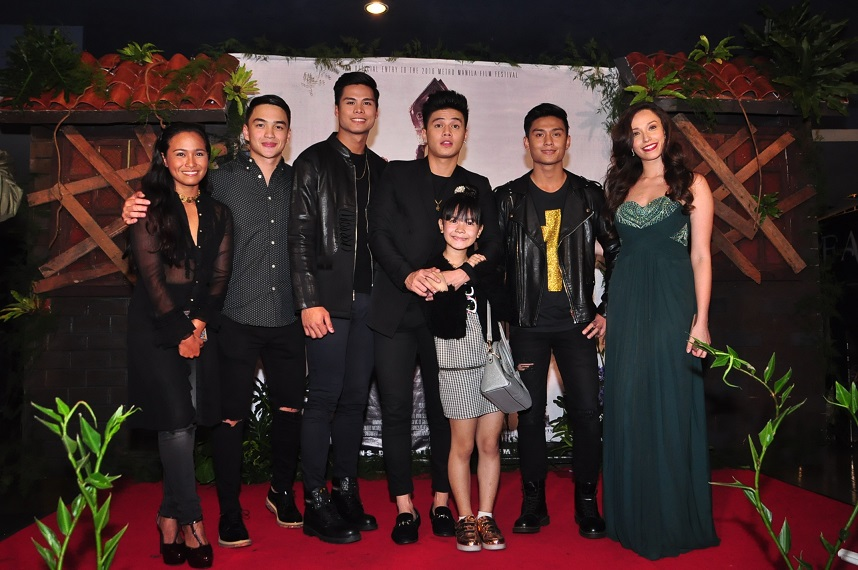 Elora España, Dominique Roque, John Vic De Guzman, Ronnie Alonte, Rhed Bustamante, J.R. Versales and Phoebe Walker