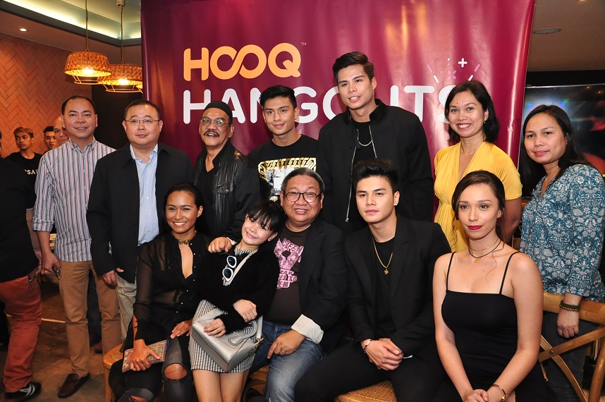 HOOQ Team with the cast of Seklusyon and Direk Erik Matti