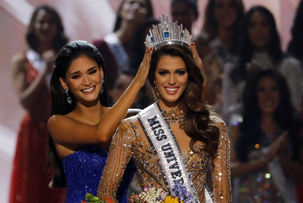 Miss Universe 2016 is Miss France