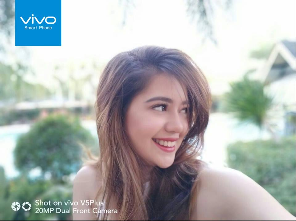 """Actress-singer Sue Ramirez leads the perfect selfie race as of February 13, with 7,756 votes. In aphoto she posted in her account, she calls Vivo """"amazing"""" for thinking of an innovative way to help charity."""