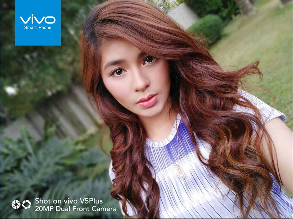 Actress Loisa Andalio is a contender for the Vivo Perfect Selfie Cup, with 5,813 votes as of February 13