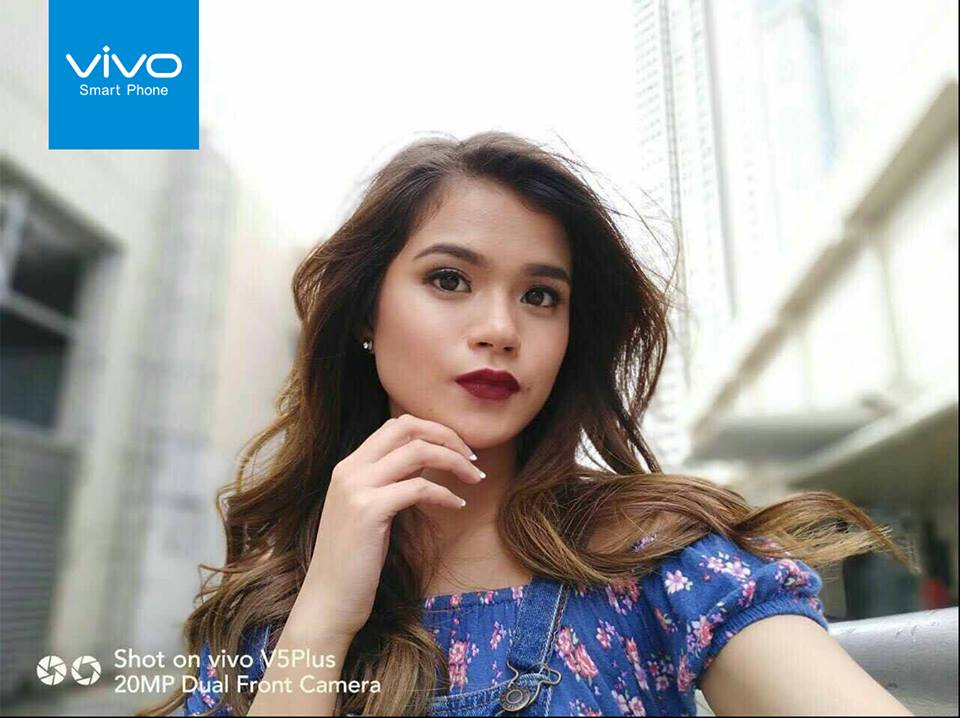 Singer-actress Maris Racal says she is happy to have the chance to share likes and love throughthe Vivo Perfect Selfie Cup.