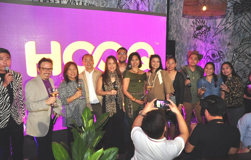 Hooq Team with Host Tim Yap