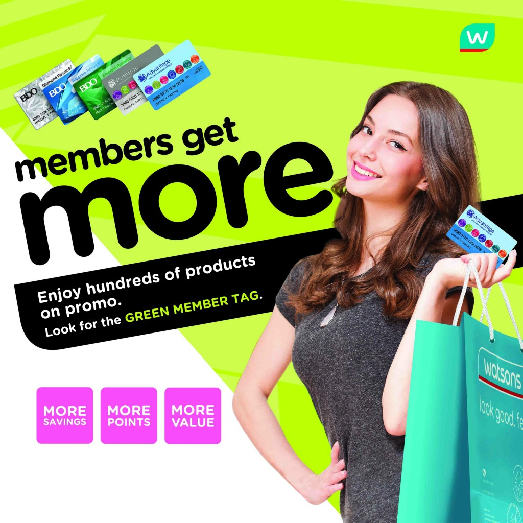 Watsons Members Get More 1ver copy