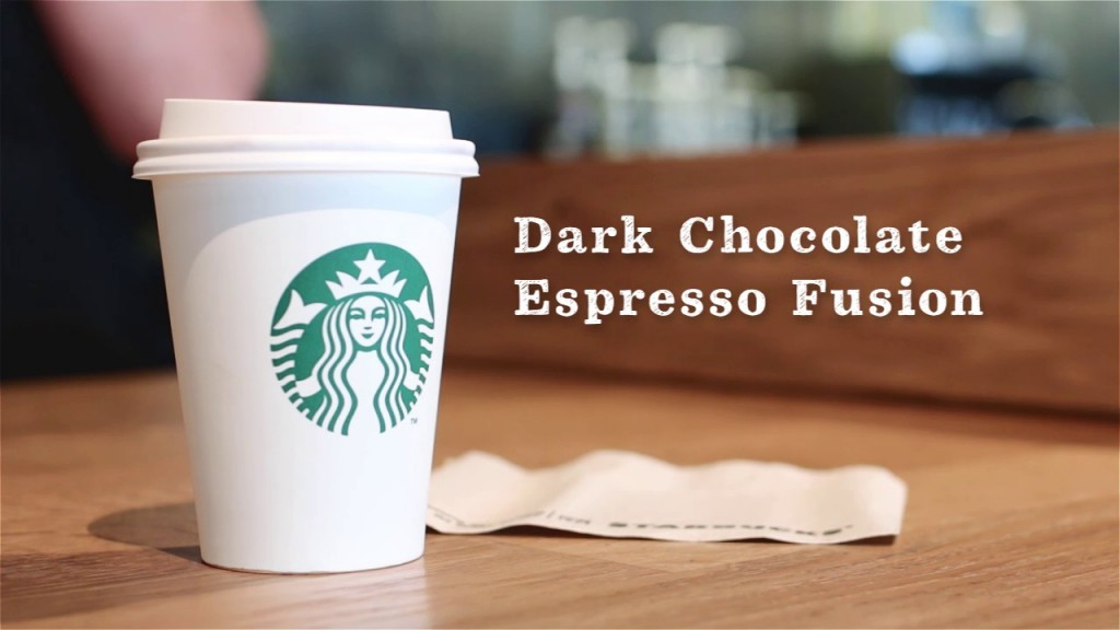 dark chocolate espresso fusion