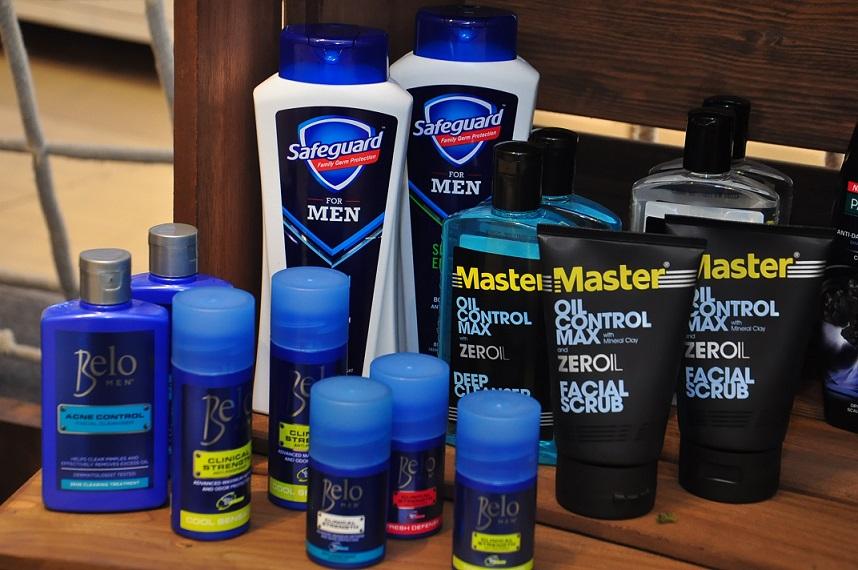 Master Oil Control, Belo Deodorant, Safeguard Men