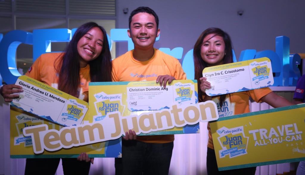 Cebu Pacific Backpackers Challenge