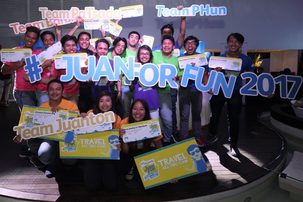 Cebu Pacific Backpackers Challenge 2017 Winners