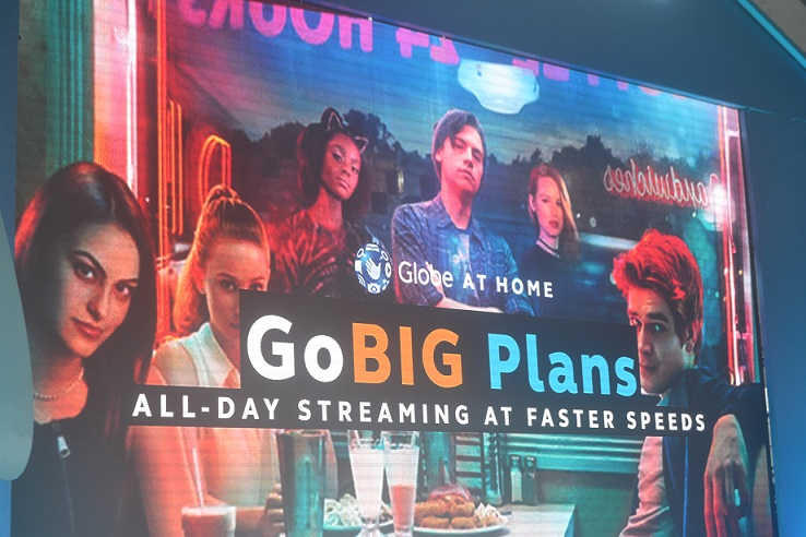 Globe At Home Go Big Plans