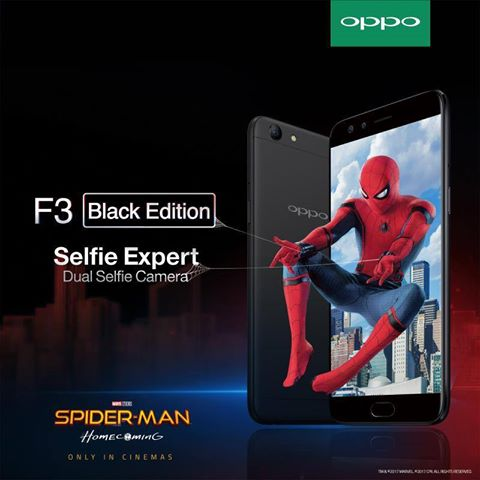 #OPPOxSpiderman