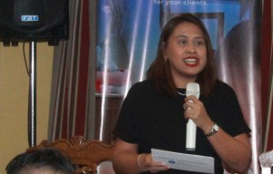 Globe myBusiness VP for Segment Marketing Debbie Obias reveals the enhanced Globe myBusiness Academy, a free learning program for aspiring retail and personal services entrepreneurs in partnership with Manila Workshops.