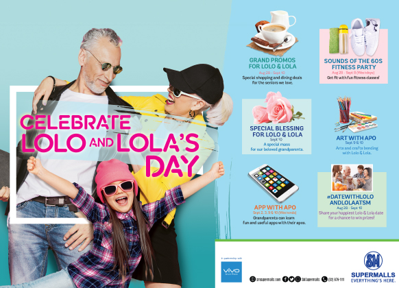 Celebrate Lola and Lolo at SM