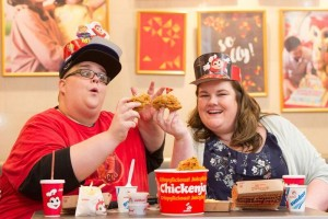 HugKnucklesTV YouTube stars Josh and Sam Brooks add their own story to Jollibee's collection of memories.