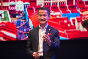 Singapore Tourism Board Chief Executive Lionel Yeo introduces Passion Made Possible