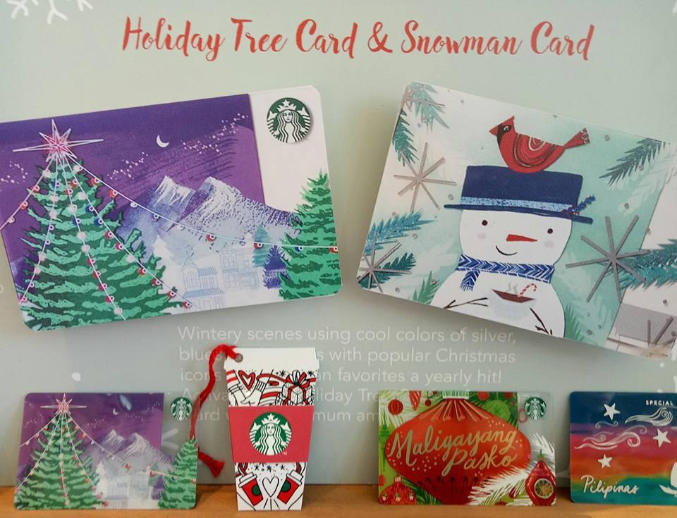 2018 Starbucks Cards