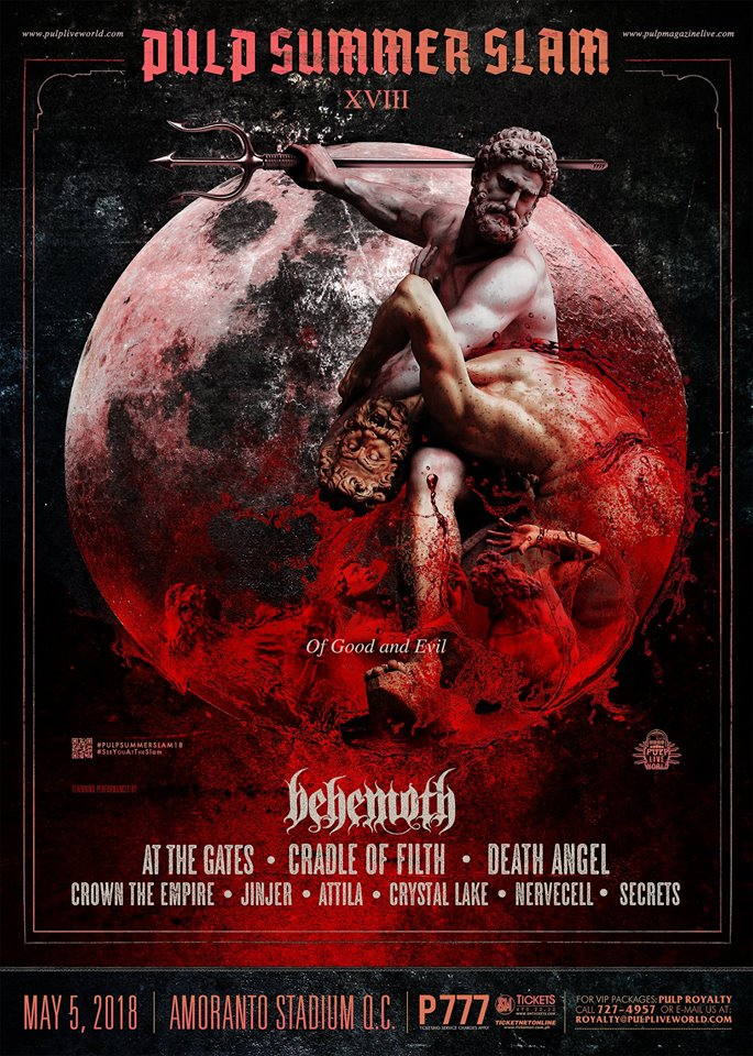 202d01c42ae4 Pulp Summer Slam XVIII will feature best of the best international and  local artists   bands including Behemoth
